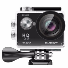 AKASO EK5000 WIFI Outdoor Action Camera HD Waterproof Camcorder diving Underwater Bike helmet Video Cam for Extreme Sports