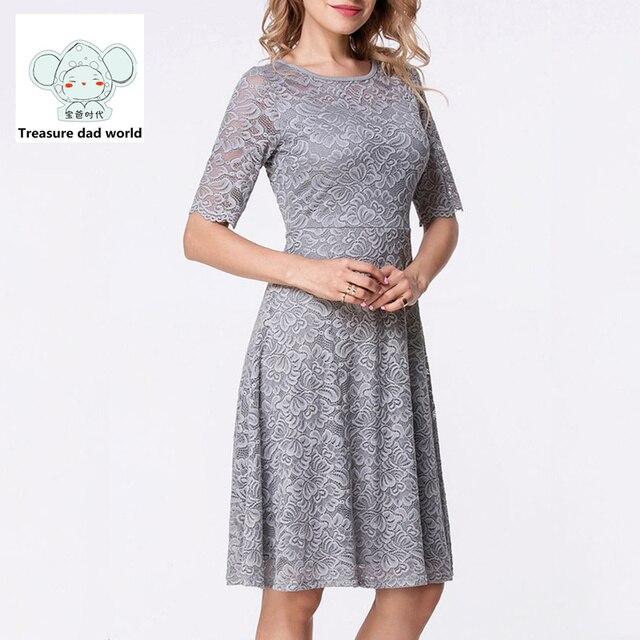 78c2eb40c € 25.8 |Tesoro papá mundo 2017 nuevos modelos de Vestido de manga Corta  Delgada falda Lápiz falda Corta de Maternidad Vestido de mujer hermosa en  ...