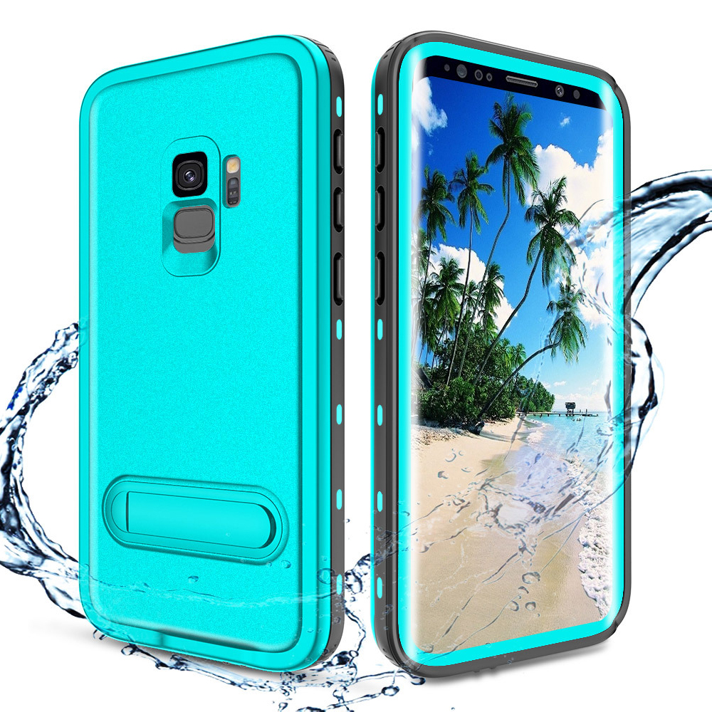 Leanonus Waterproof Case For Samsung Note 9 Note8 Cover IP68 Swim Proof Water Proof Diving Holder Coque For Samsung S9 S8 Plus
