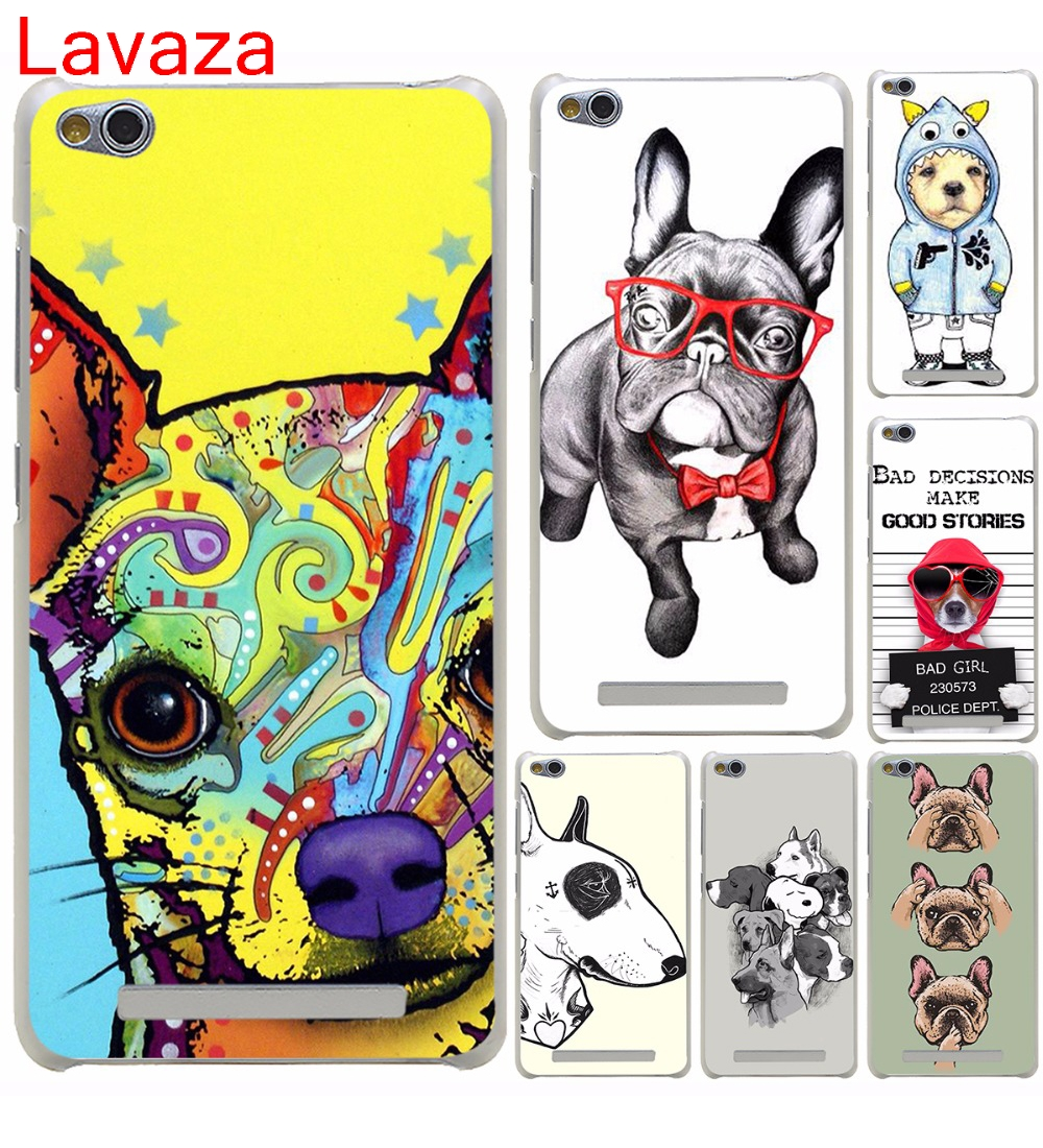 Lavaza Татуированная бультерьер милая собака biaoqing жесткий чехол для Xiaomi 6 5 5S пл ...