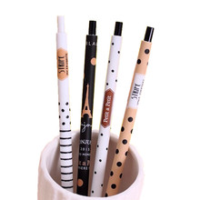 1Pcs/lot 0.5mm Hobby Automatic Pencil Lovely Dots Tower Pen For Kid School Supplies