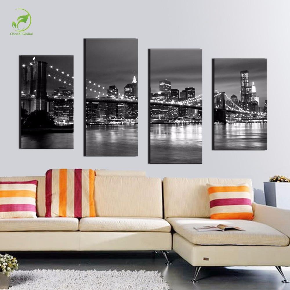 Achetez en gros york peinture en ligne des grossistes york peinture chinois - Cadre new york noir et blanc ...