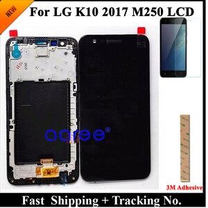 Image 1 - 100% اختبار LCD ل LG K10 2017 LCD ل K10 2017 عرض M250 M250N M250E M250DS عرض شاشة LCD مجموعة رقمنة اللمس