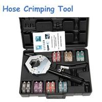 Automotive A/C Hose Crimping Tools for Repair Air Conditioner Pipes Hose Crimper Kit FS 7842