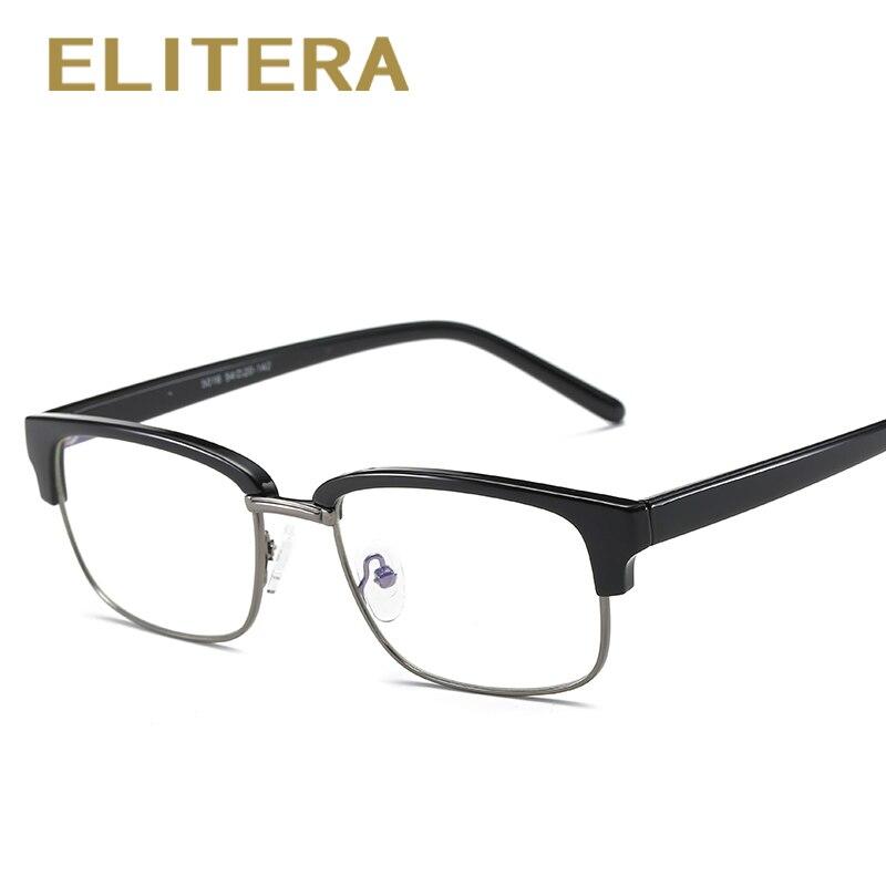 ELITERA High Quality Anti Blue Rays Fatigue Radiation-resistant Mens Eyeglasses Glasses Frame Oculos de grau Google Eyewear