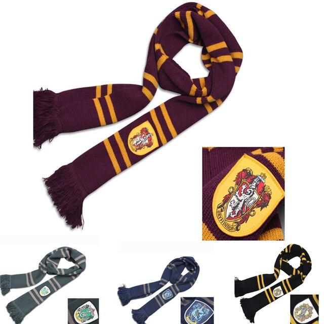 Regalo de moda Harry Potter bufandas Ravenclaw accesorios de la ...