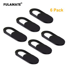 FULAIKATE 6PCS Camera Cover for Mobile Phone Laptops Shutter