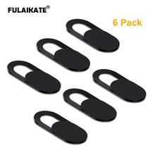 FULAIKATE 6PCS Camera Cover for Mobile Phone Laptops Shutter Slider Pl