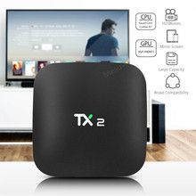 TX2-R1 R2 Android 6.0 Smart TV Box BT 2.0 KD Lecteur 2G 16G ARM Cortex-A7 RK3229 32Bit 2.4 GHz WiFi 4 K x 2 K Smart Media Player