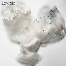 Lawaia Monofilament Three-layer Adhesive Mesh 1.3m Deep 100m Long U-shaped Transparent Plastic White Fish Net Sticky
