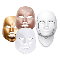 Korea Facial Mask 7 Colors LED Mask for Face Skin Rejuvenation Face Mask Treatment Beauty Anti Acne Therapy Whitening Massager