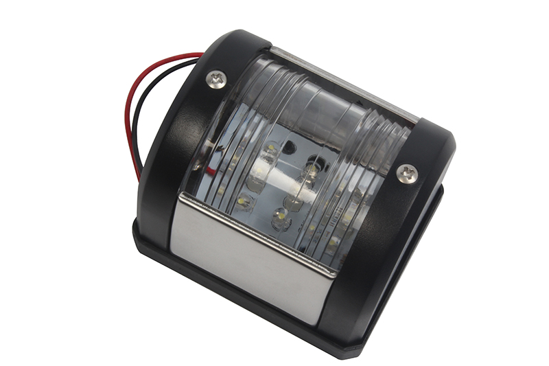 Image 2 - 12V Marine Boat Yacht LED Stern Light Signal Lamp White Navigation Lamp-in Marine Hardware from Automobiles & Motorcycles