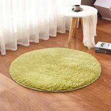 grass green round rug carpets yoga living room carpet kids room rugs soft and fluffy warm custom size diameter