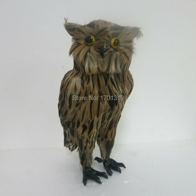 Owl model  Special decoration Family personalized decorative Figurines
