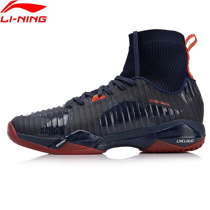 Ankle Support Shoes >> Li Ning Professional Badminton Shoes For Men Anti Skid Breathable