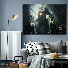 Canvas Print Picture Wall Art 1 Pieces Game Anthem Poster For Modern Living Room Home Decorative Artwork Framework Or