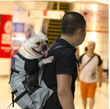 1pcs Outdoor Pet Dog Carrier Bag Backpack New Out Double Shoulder Portable Travel Breathable Mesh Hot Sale