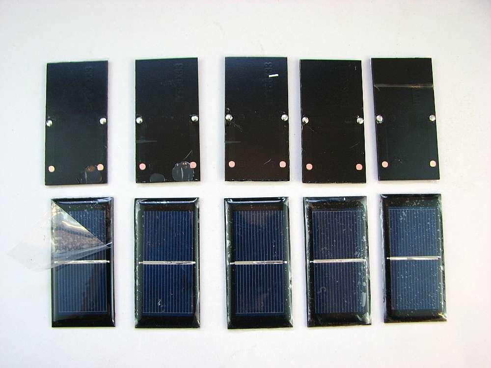 eb14795c7c5 Diy peças do motor de Mendocino painéis Solares brinquedo solar 10 pcs cada  0.5 v 400ma