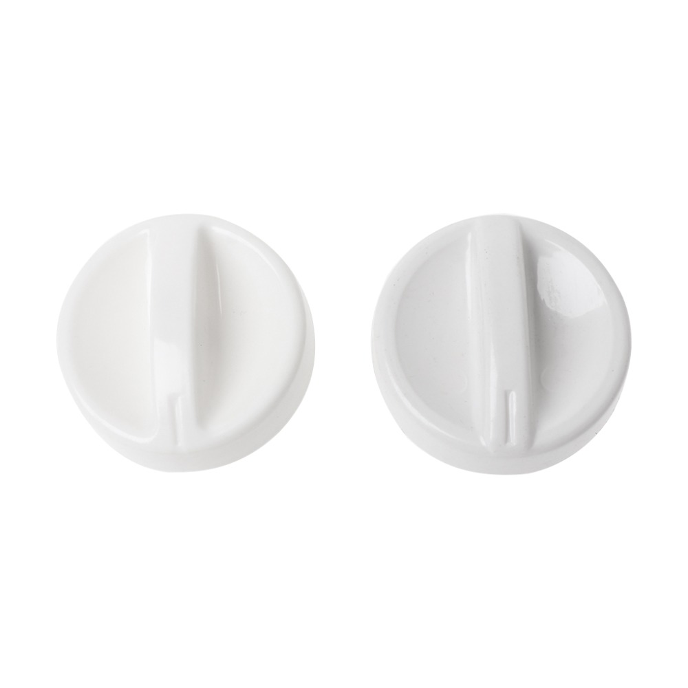 2Pcs Universal Microwave Oven Plastic Spool Rotary Knob Timer Control Switch New universal oven timer buzzer alarm reminder