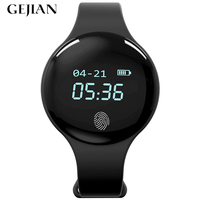 GEJIAN smart watch men's and women's sports digital bracelet smart bracelet pedometer fitness watch for IOS Android erkek saat