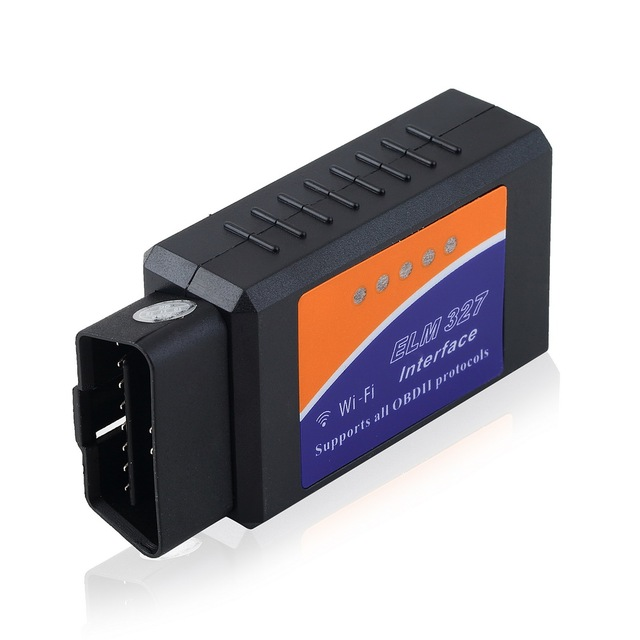 Mini V1.5 ELM327 WiFi ELM 327 OBDII Car Diagnostic Tool OBD2 Code Reader Scanner for Android PC IOS WiFi ELM 327