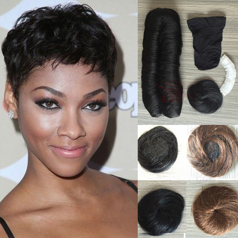 Pixie Cut With Weave Hair Color Ideas And Styles For 2018