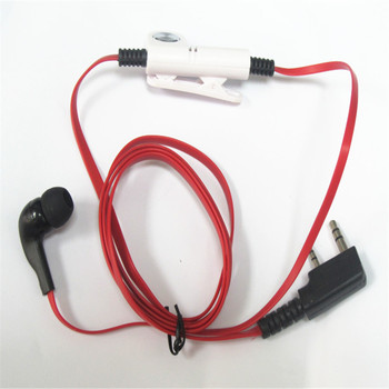 Noodle red fashion walkie-talkie headphones are suitable for Baofeng UV5R BF888S walkie-talkie headphones J058