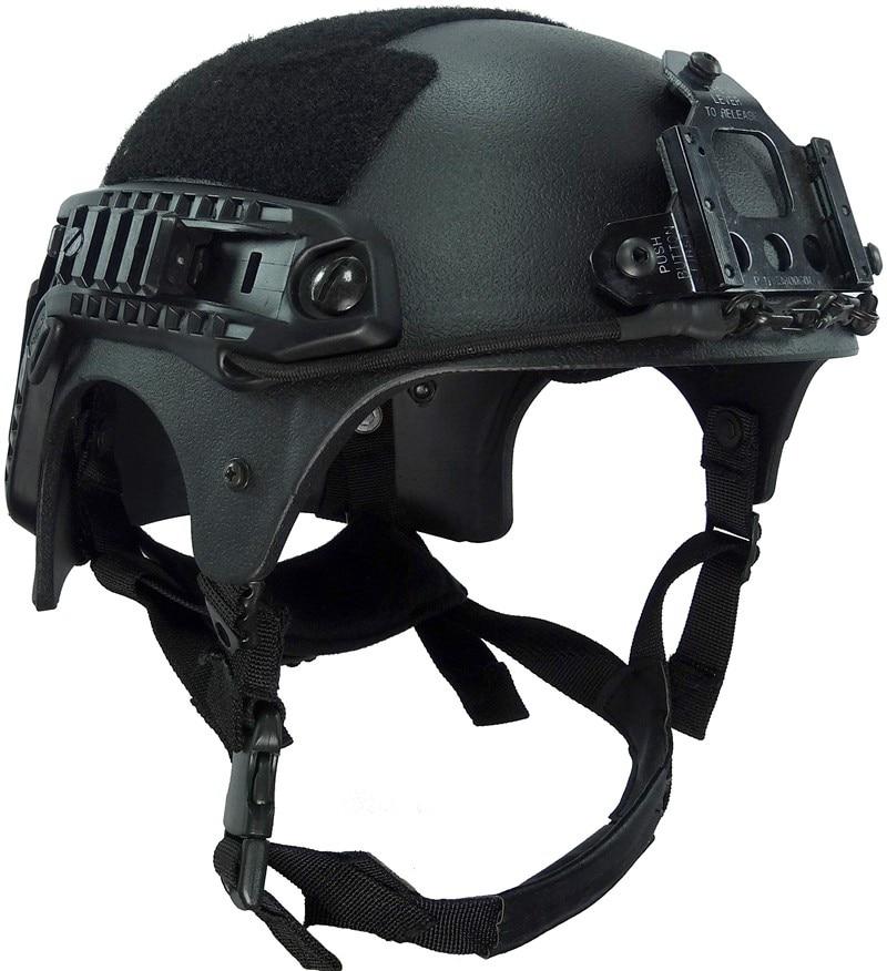 CS wargame тактический шлем и Ночного Видения Гора печать Комплексная Airsoft Пейнтбол шлем