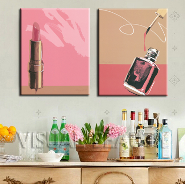 Painting With Nail Polish On Canvas