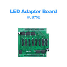 HUB75E indoor RGB full color HD Video LED screen unit modules support 1/2, 1/4, 1/8, 1/16, 1/32 Scan