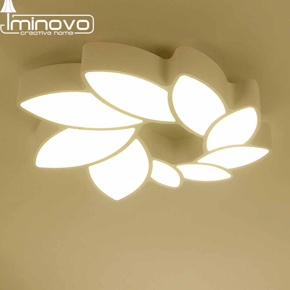 IMINOVO Living room lamp led ceiling bedroom lamp modern minimalist atmosphere of fashion Promise dimming lighting only a promise