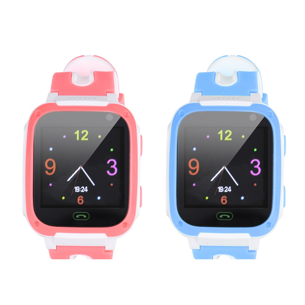 SOONHUA T10 Waterproof Kids Smart Watch Real-time Positioning Puzzle Games With Camera SIM Calls For Phone Children Wristwatch