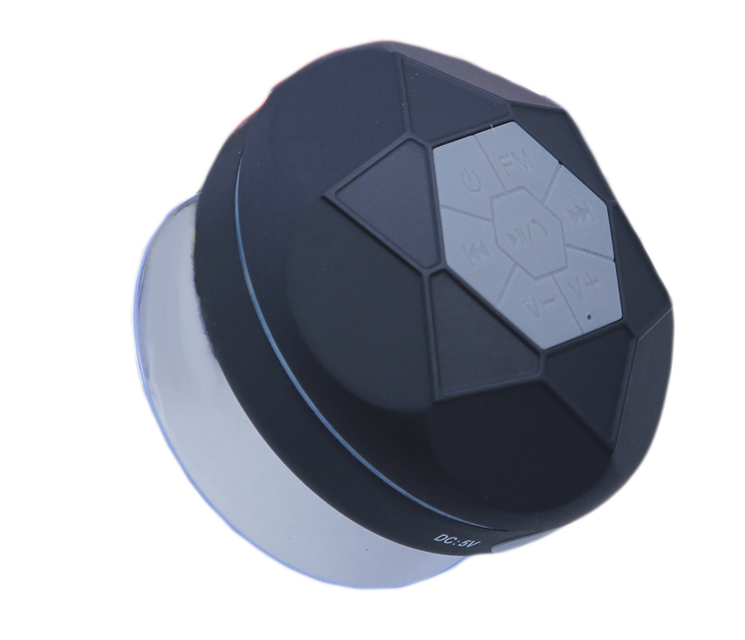 Portable Bluetooth Shower Speaker Waterproof IPX7 with FM Radio 600mAh Magic Light Subwoofer Compatible With All
