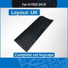 10set/Lot A1932 Replacement Keycap key UK Standard for Macbook Air Retina 13″ A1932 Complete set keycaps 2018 Year MRE82