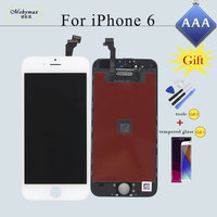 Replacement For IPhone 6 A1586 A1549 LCD Screen Display Touch Digitizer Assembly Parts 2 Free Gift