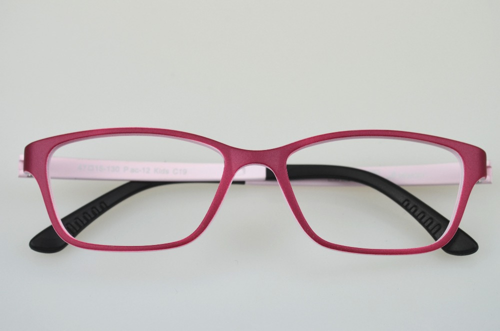 Free shipping glasses kids girls frames super light 9g reading ...