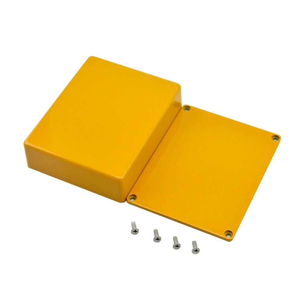Hammond 1590BB  Guitar effects stomp die-casting aluminium enclosure box  orange 1590BB  for Guitar Parts & Accessories korg px st pandora stomp