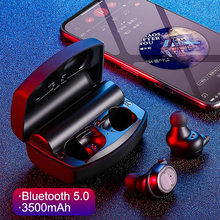 TWS Original 5.0 Bluetooth Headphones Wireless Earphone Handsfree Call With Charging Box For Xiaomi iPhone Redmi(China)