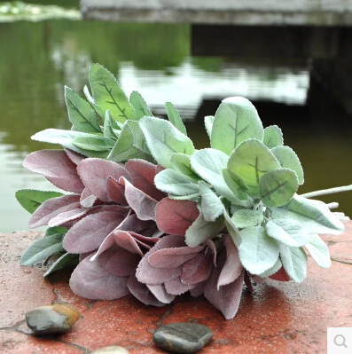 Top quality artificial plants silk flowers spray acorn leaf green top quality artificial plants silk flowers spray acorn leaf green trees fake plants for xmas garden decorations in artificial dried flowers from home mightylinksfo