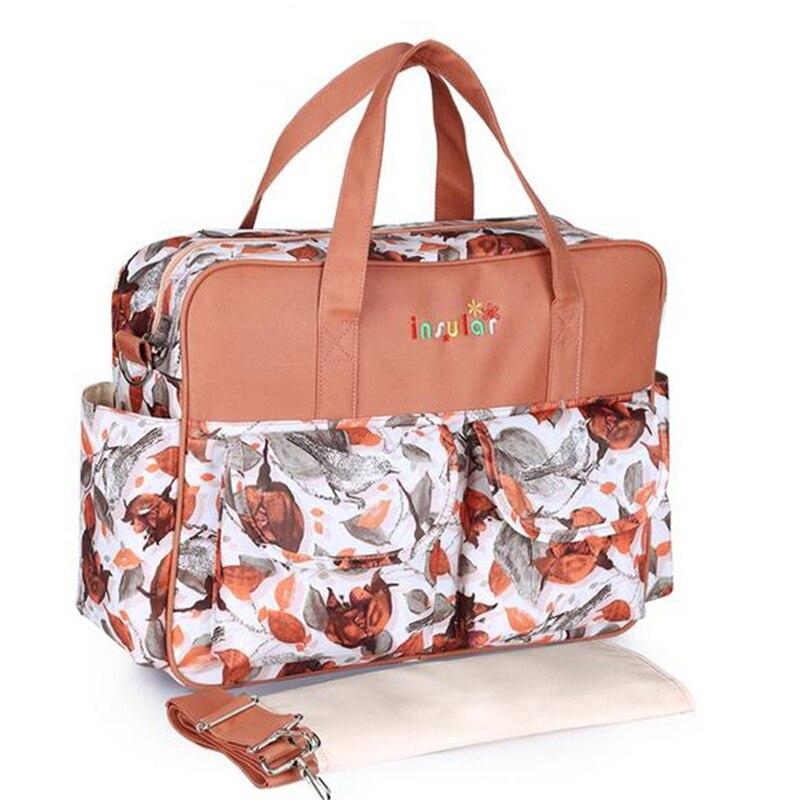 HTB1UHIQLNYaK1RjSZFnq6y80pXao Mummy Maternity Nappy Bag Stroller bolsa Large Capacity Baby Travel Backpack Mommy Nursing Bag Baby Care Changing Diaper Bag