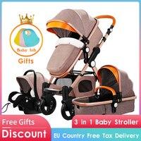 4 in1 baby kinderwagen klapp baby auto aluminium legierung rahmen hohe qualität baby kinderwagen gold baby|Kinderwagen mit vier Rädern|Mutter und Kind -