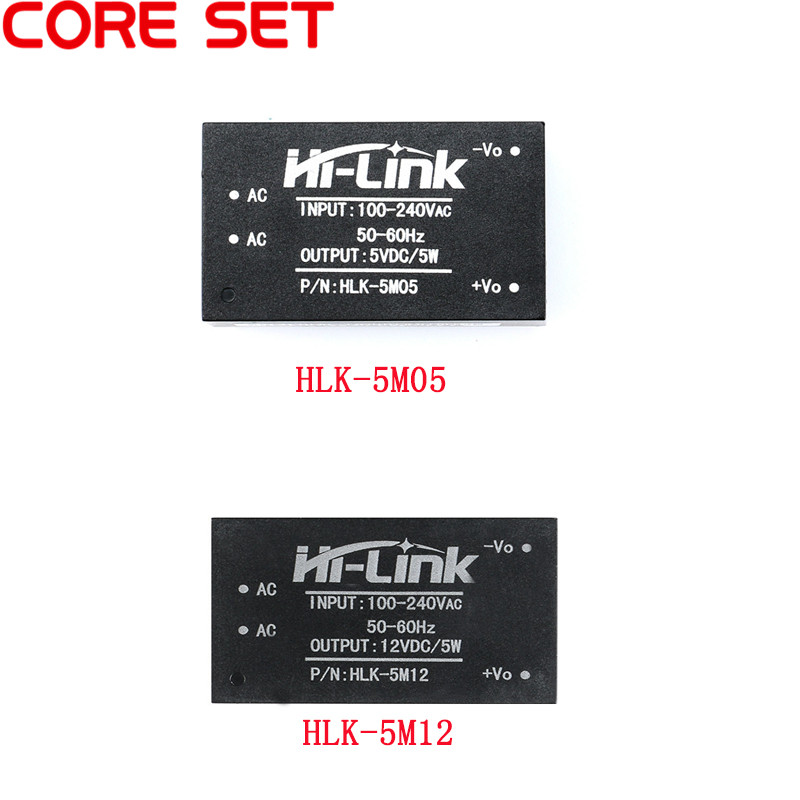 HLK-5M05 HLK-5M12 AC-DC <font><b>220V</b></font> <font><b>to</b></font> 5V <font><b>12V</b></font> Power <font><b>Module</b></font> AC <font><b>to</b></font> DC Step Down Buck <font><b>Module</b></font> Low Ripple image