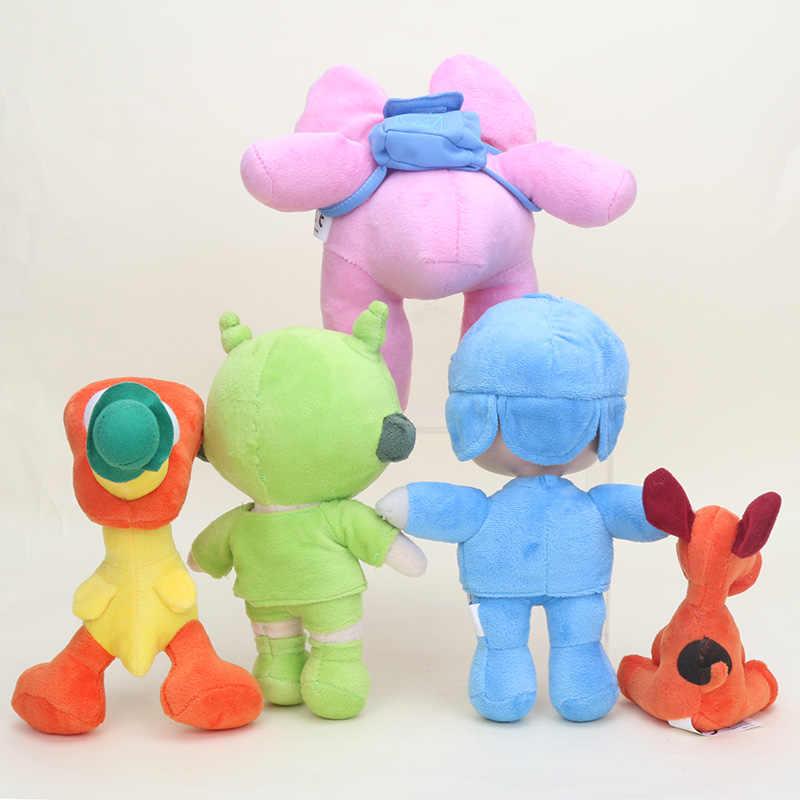 Pocoyo dos desenhos animados de pelúcia brinquedos de pelúcia para crianças pocoyo elly pato pocoyo loula nina sonolento pássaro recheado