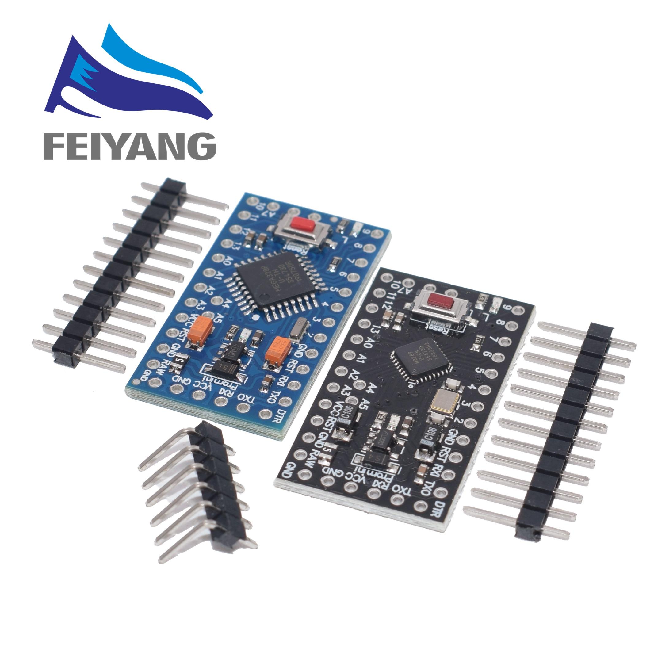 10PCS With The Bootloader ATMEGA328P Pro Mini 5V 16MHz/3.3V 8Mhz 328 Mini ATMEGA328 5V 16MHz