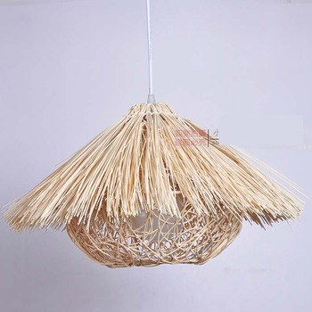 Bamboo Chinese garden rattan pendant light retro lamps simple creative dining room balcony  pendant lamps   Z zb22 lo10
