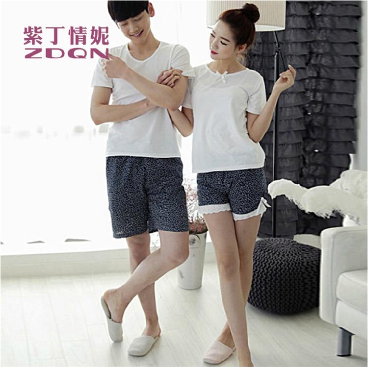 Aliexpress.com : Buy Korean Style New Lovers Pajamas Women Cute ...