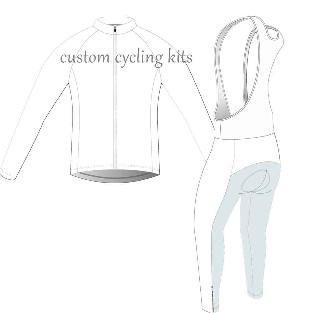 2018 pro team custom made cycling jersey long sleeve Winter fleece thermal cycling Invierno maillot ciclismo