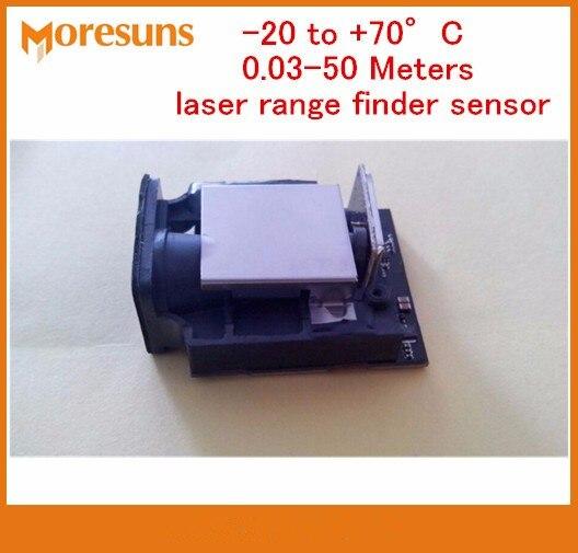 Free Ship 20 to 70 degree laser ranging sensor precision + 1mm highest frequency 20HZ 0.03 50m laser range finder sensor module