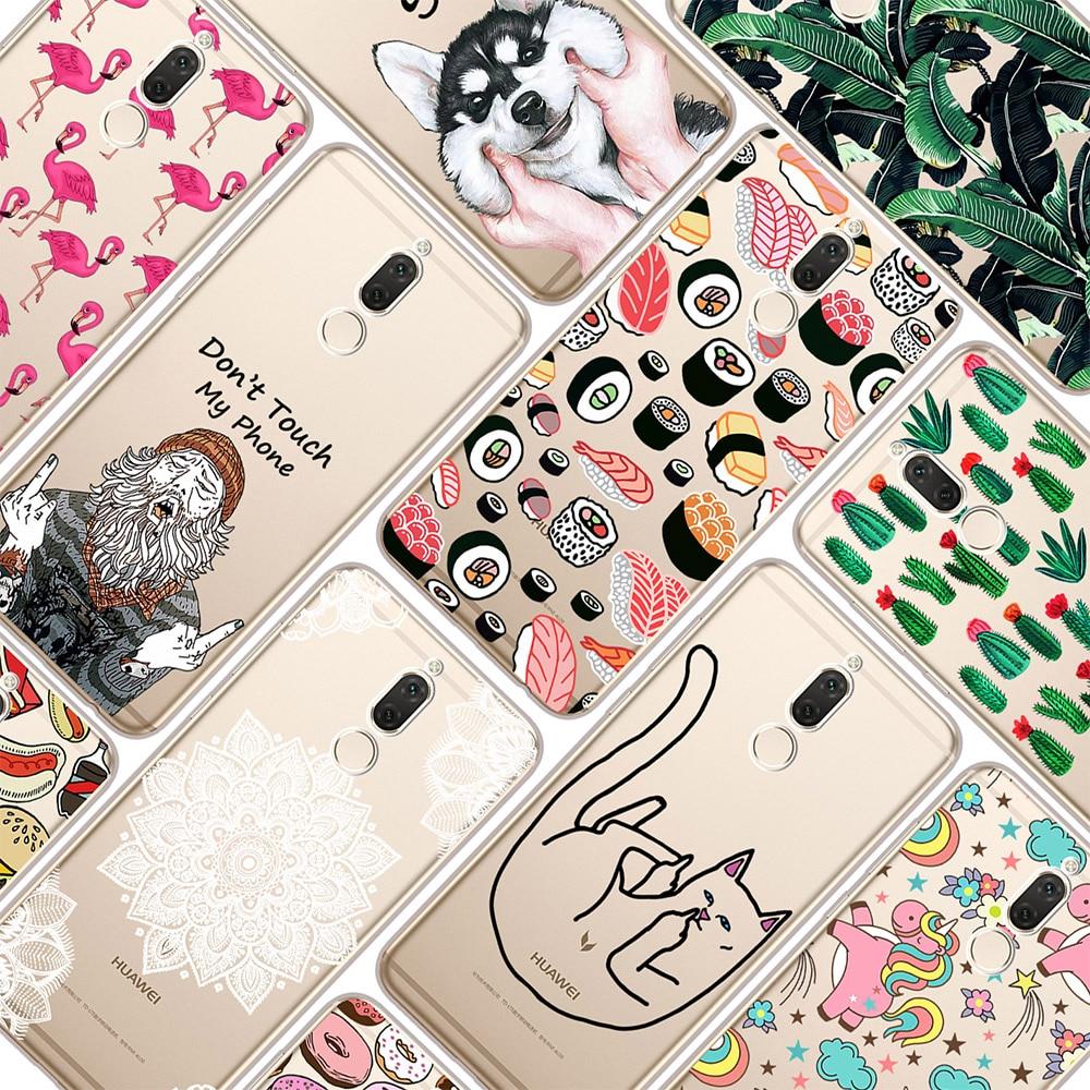 tpu-soft-case-para-huawei-companheiro-10-lite-59-desenho-de-impressao-transparente-casos-de-telefone-de-silicone-capa-para-huawei-companheiro-10-lite
