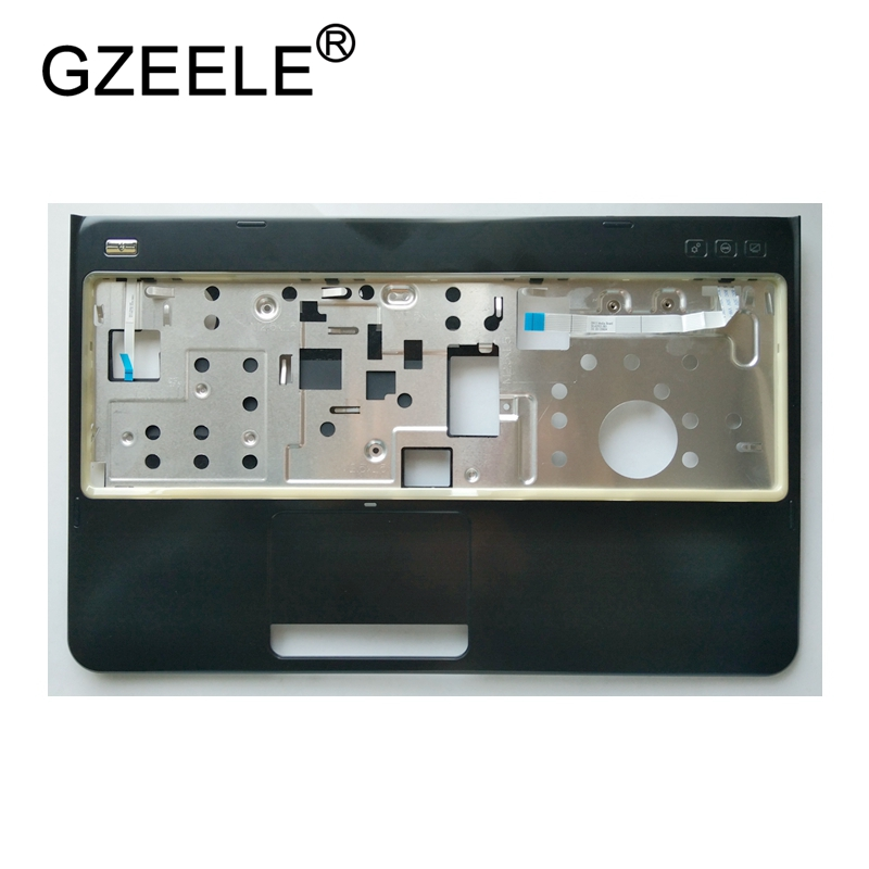 GZEELE New Palmrest Cover C Shell For Dell Inspiron 15R N5110 M5110 M511R Series Without Touchpad Upper Case Keyboard Bezel